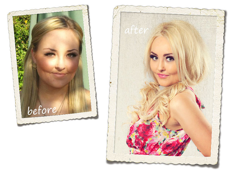 Before & After Photos - Makeover Photoshoot