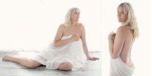 boudoir shoot confidence building