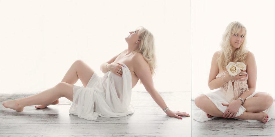 boudoir confidence shoot